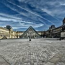 The Louvre in Paris by cclaude