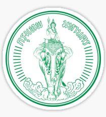 Bangkok Seal, Thailand Sticker
