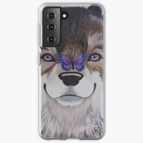The Wolf and Butterfly Samsung Galaxy Soft Case
