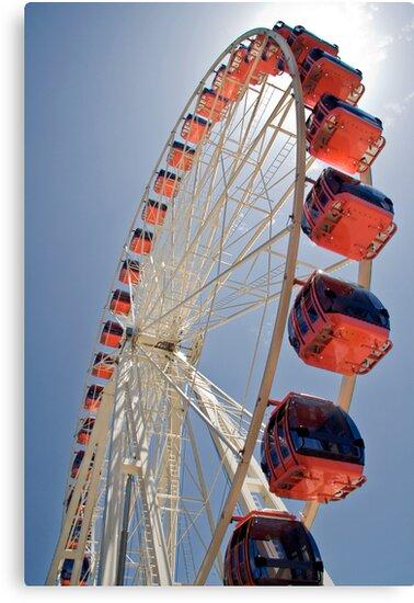 Ferris Wheel 2 by Ben Herman