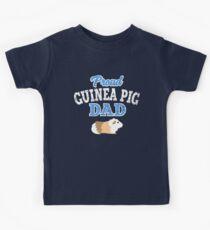 proud guinea pig dad Kids Tee