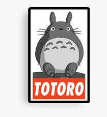-MANGA- Totoro Leinwanddruck