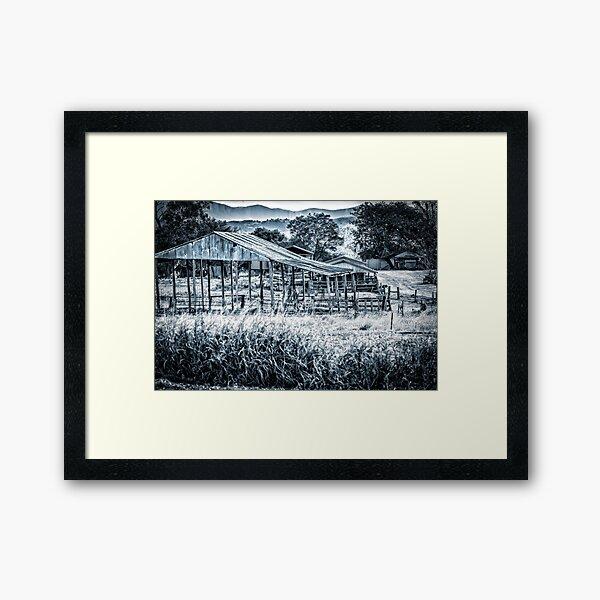 Seen Better Days Framed Art Print