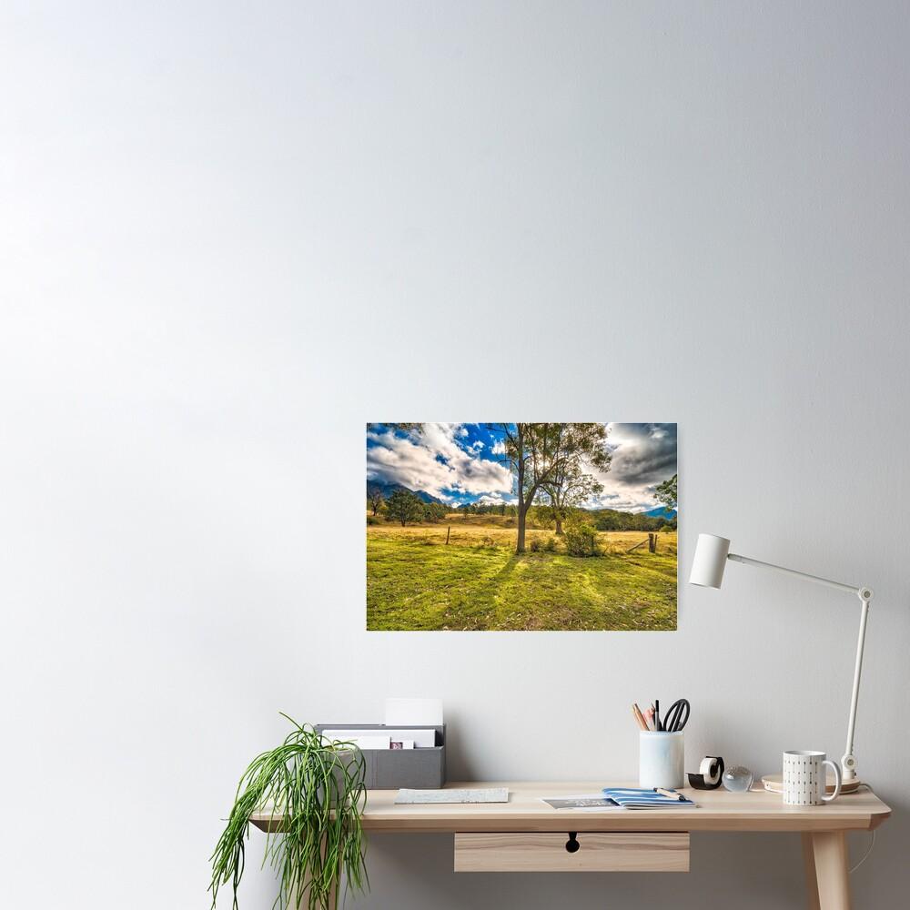 Countryside Australia Poster