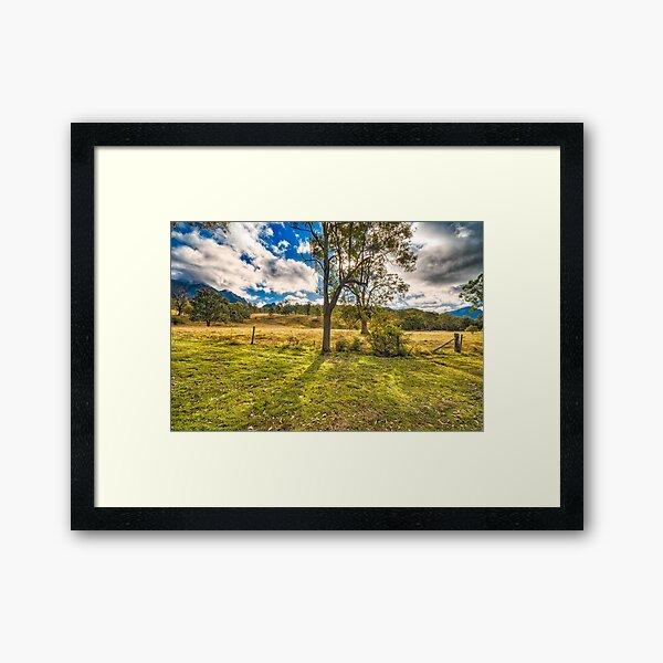 Countryside Australia Framed Art Print