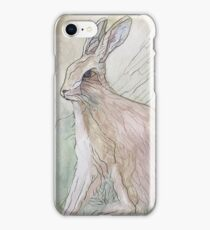 A Wee Hare  iPhone Case/Skin