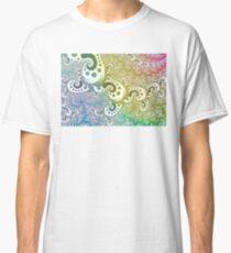 abstract rainbow fractal Classic T-Shirt