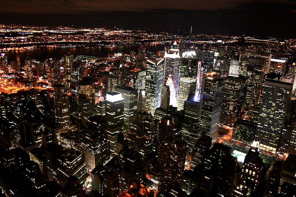 New York @ Night by Gareth24
