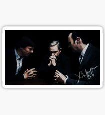 Sherlock, John and Mycroft Sticker