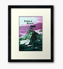 Pebble Beach California Framed Print