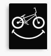 BMX Smile Canvas Print
