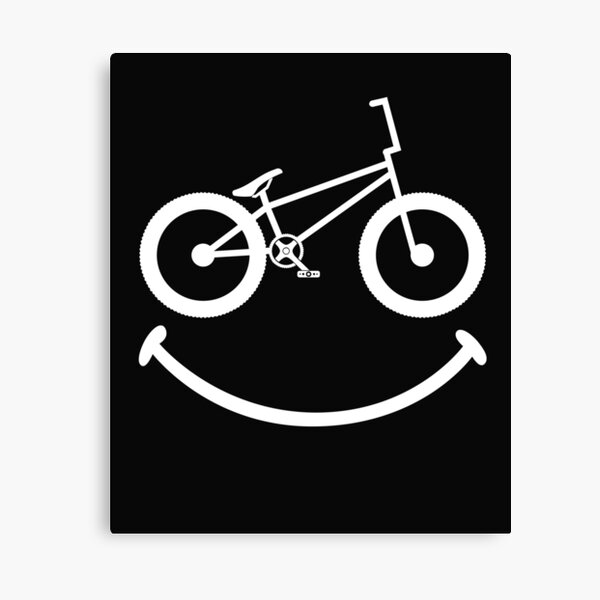 BMX Smile Canvas Print