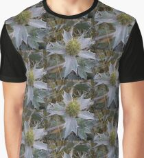 Sea Holly - Eryngium maritimum Graphic T-Shirt