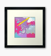 Be bright New Design by What-Katy-Loved Framed Print