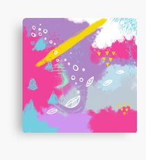 Be bright New Design by What-Katy-Loved Canvas Print