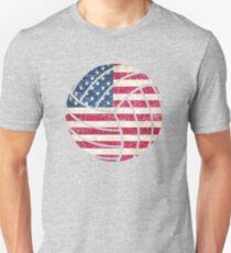 Volley USA Flag Unisex T-Shirt