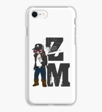 Zach McGowan - ZM - black iPhone Case/Skin