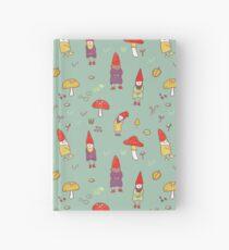 Gnome garden Hardcover Journal