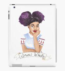 Snow | Black Princess Series iPad Case/Skin