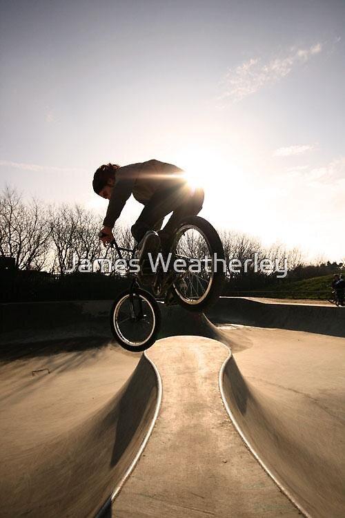 BMX Rider by James Weatherley