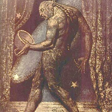 BLAKE, William Blake, The Ghost of a Flea, English poet, painter, printmaker by TOMSREDBUBBLE