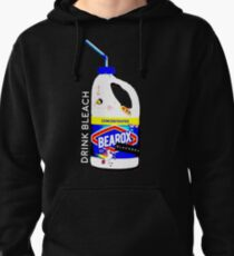 Drink Bleach Pullover Hoodie