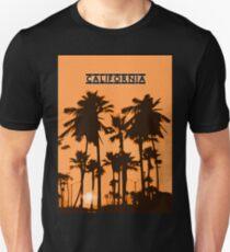 California - Sunset in the USA Unisex T-Shirt