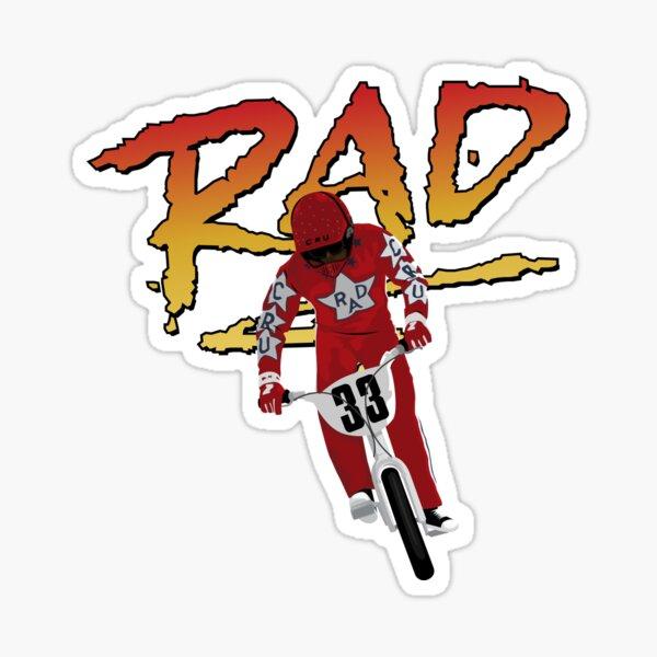 Cru Jones Rad Sticker