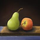 The Pear and the Apple by nksran