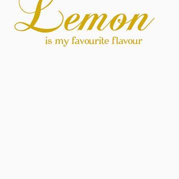 Lemon is my favorite flavor by FuzzyDice