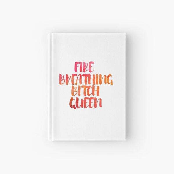 Fire Breathing Queen Hardcover Journal