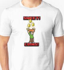 Sweet! Scott Pilgrim! Coins! Unisex T-Shirt