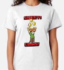 Sweet! Scott Pilgrim! Coins! Classic T-Shirt