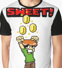 Sweet! Scott Pilgrim! Coins! Graphic T-Shirt