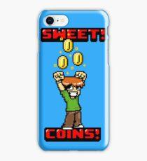 Sweet! Scott Pilgrim! Coins! iPhone Case/Skin