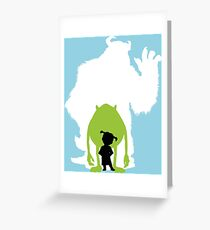 Monsters Inc. Greeting Card