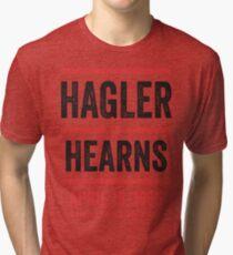 Hagler vs Hearns Tri-blend T-Shirt