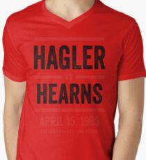 Hagler vs Hearns Men's V-Neck T-Shirt