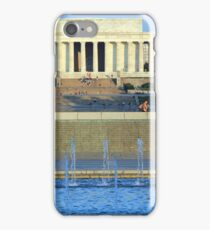The Lincoln Memorial Blues iPhone Case/Skin