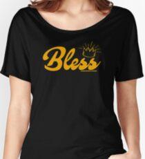 Abnormallyadam: Bless Women's Relaxed Fit T-Shirt