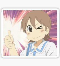Nichijou - Thumbs Up Yuuko Sticker