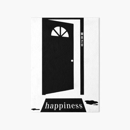Matchbox 20 3AM - Happiness Art Board Print