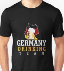 Germany Drinking Team Unisex T-Shirt
