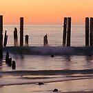 Sunset, Port Willunga beach by Elana Bailey