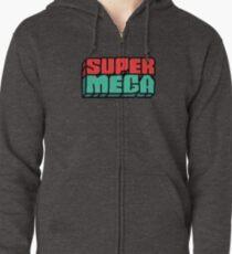 SuperMega Logo Merch Zipped Hoodie