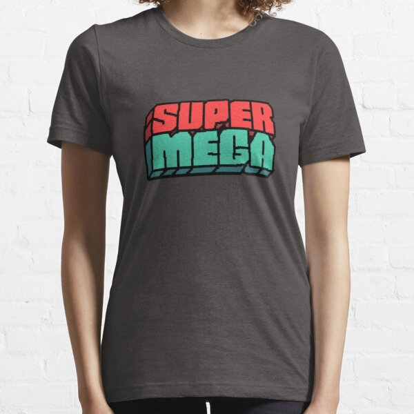 SuperMega Logo Merch Essential T-Shirt