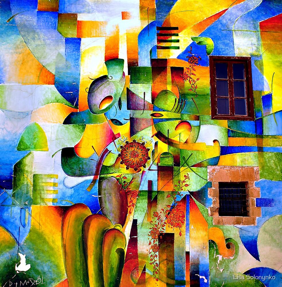 Nicosia Mural by Lisa Solonynko