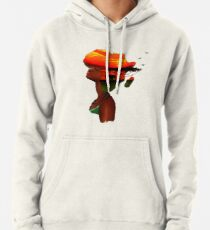 African Sunset Pullover Hoodie