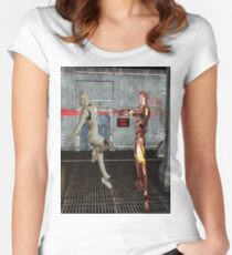 Robot Wars Women's Fitted Scoop T-Shirt