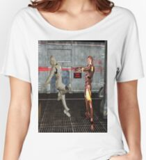Robot Wars Women's Relaxed Fit T-Shirt